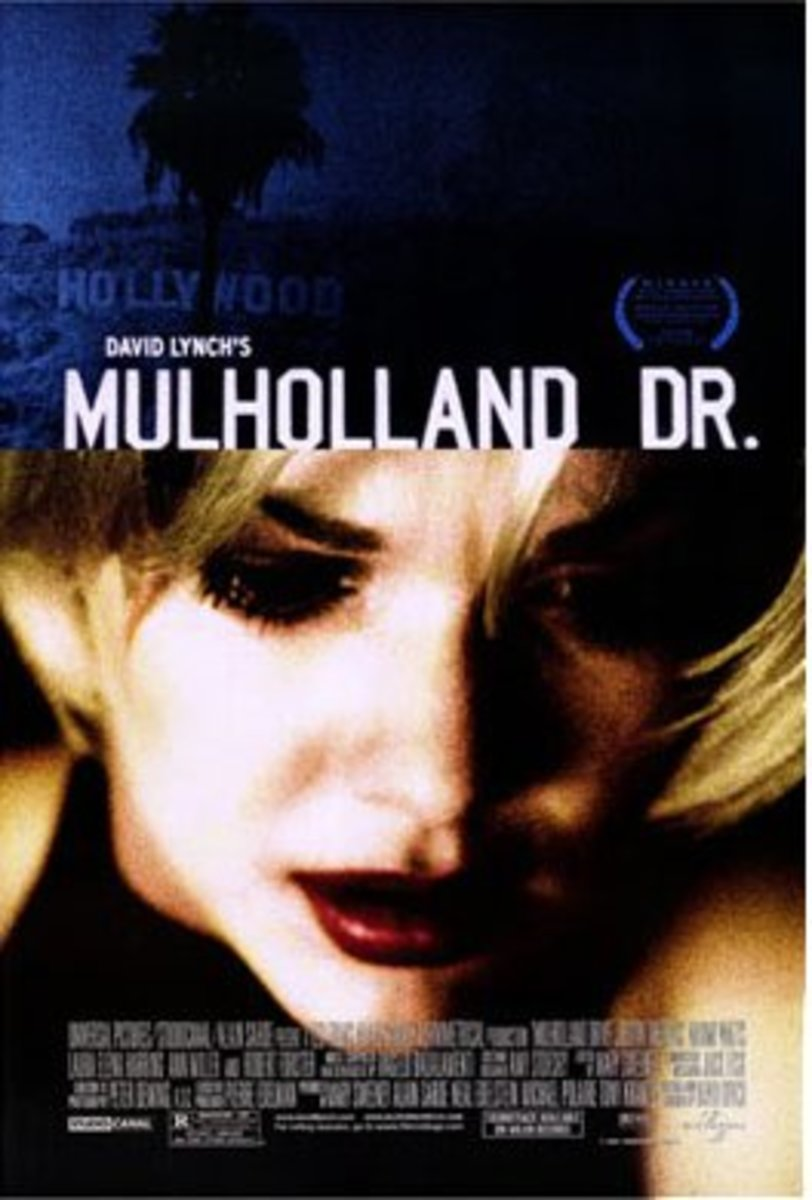 Mulholland Dr. (2001)  Directed By: David Lynch Starring: Naomi Watts, Justin Theroux, Laura Harring