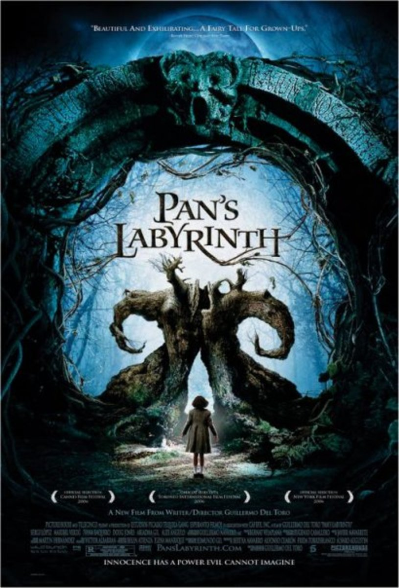 Pan's Labyrinth (2006) Directed by: Guillermo del Toro Starring: Ivana Baquero, Ariadna Gil, Sergi López