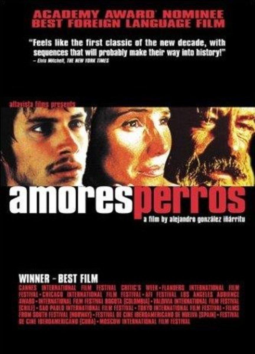 Amores Perros (2000) Directed By: Alejandro González Iñárritu Starring: Guillermo Arriaga, Emilio Echevarría, Gael García Bernal, Goya Toledo