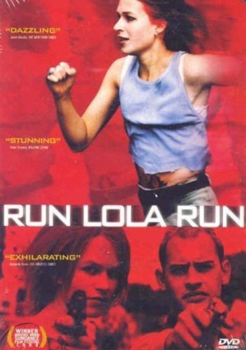 Run Lola Run (1998) Directed by: Tom Tykwer Starring: Franka Potente, Moritz Bleibtreu