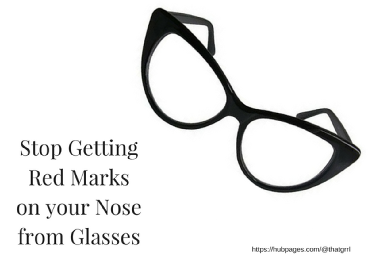 Stop Getting Red Marks on Your Nose From Glasses