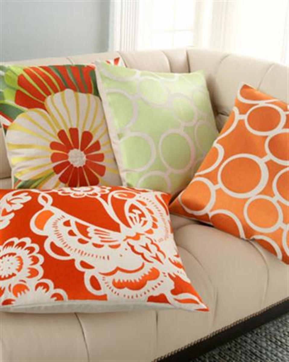 Add extra cushion with decorative pillows.