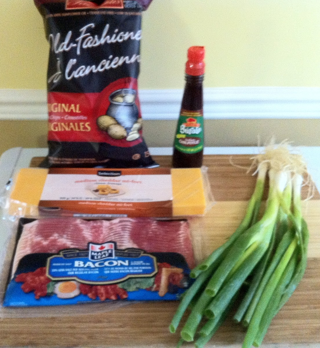 Ingredients for Irish Nachos