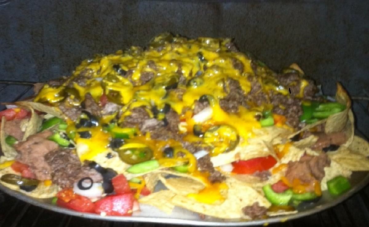 Mile High Nachos Recipe