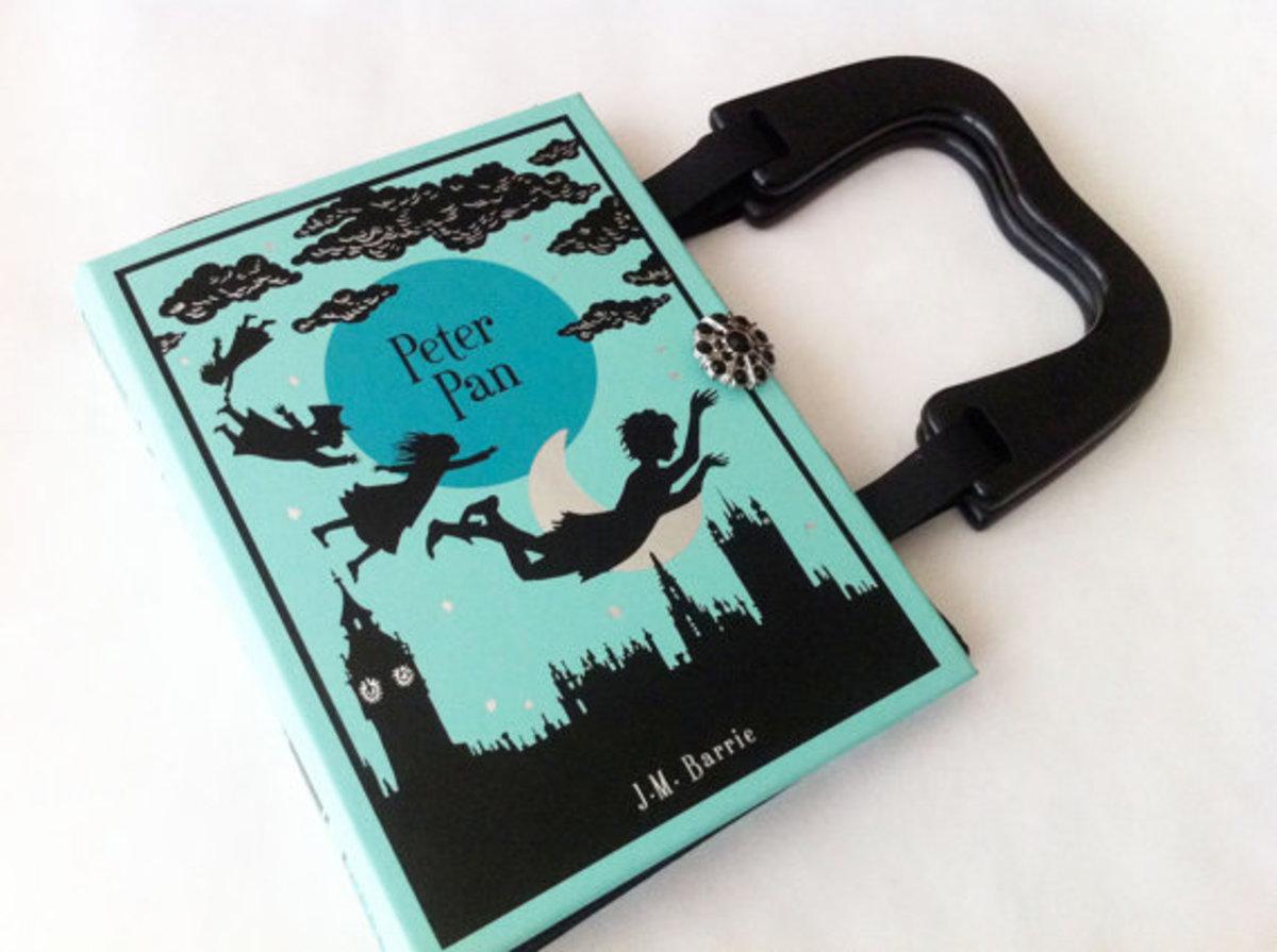 Handbag made from a Vintage Book
