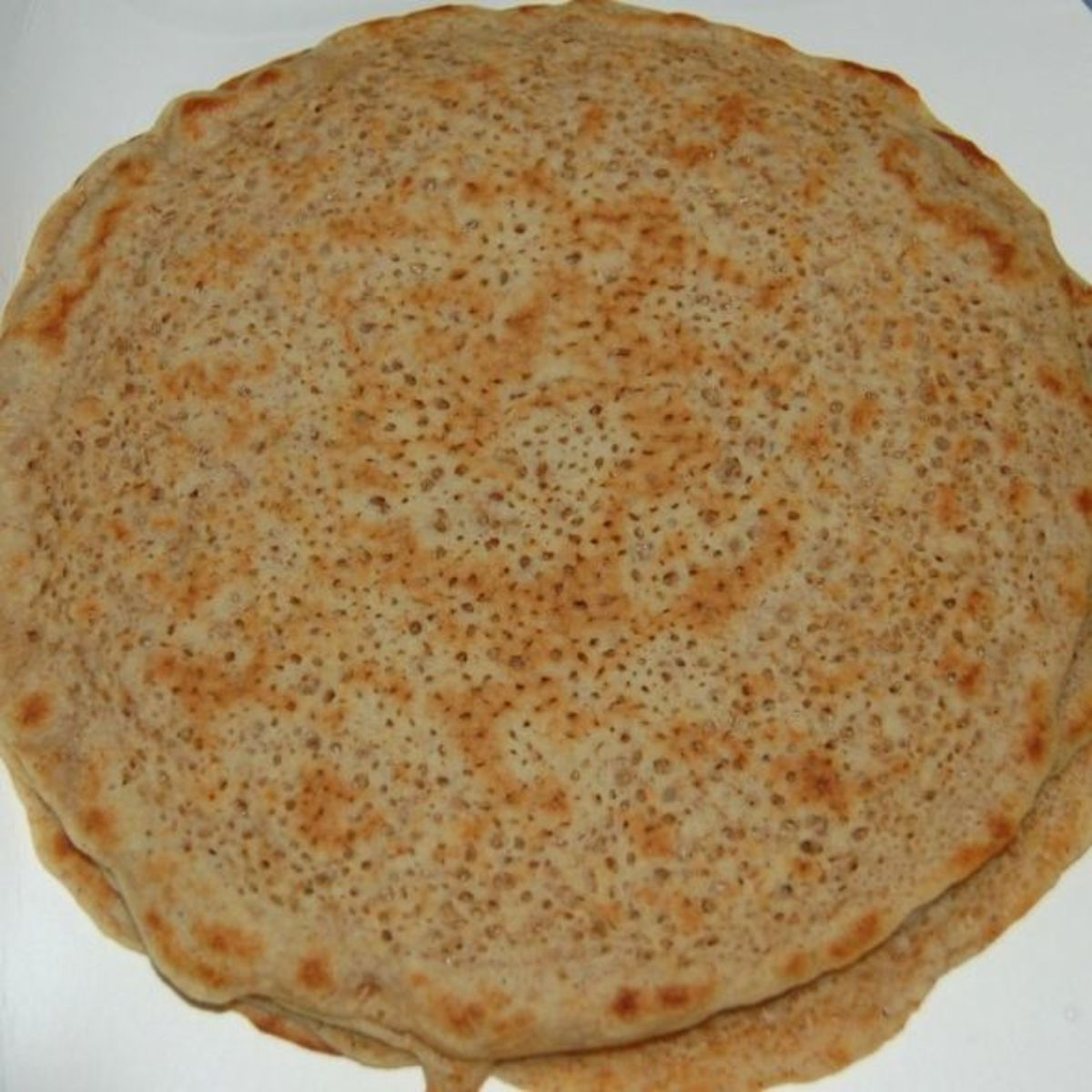 The North Staffordshire Oatcake