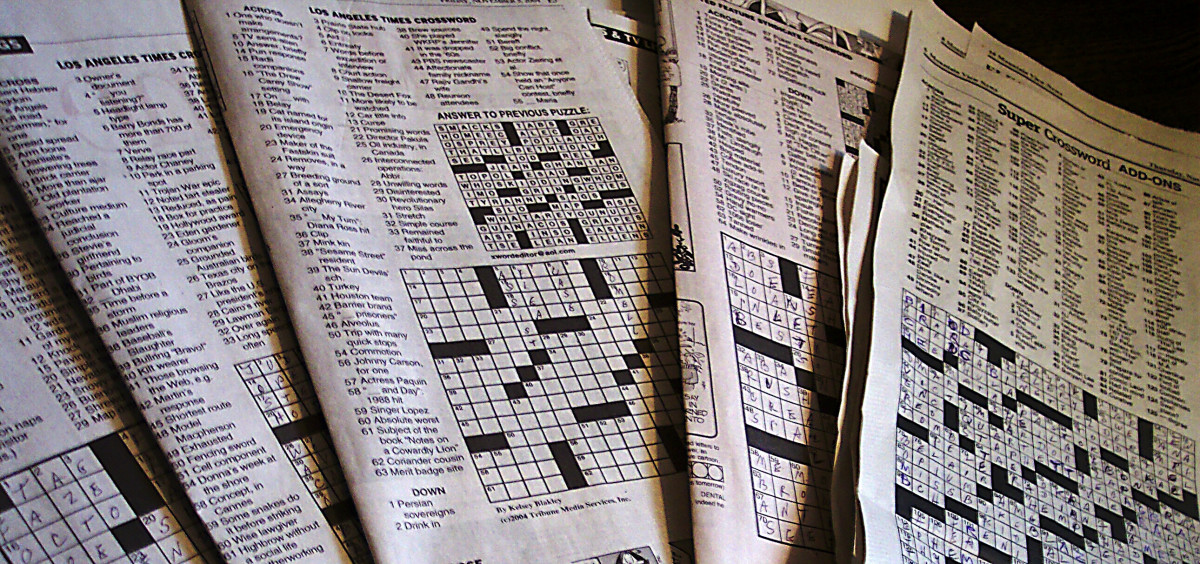 Are you giving a gift to someone who loves crossword puzzles? This is a perfect wrapping option.