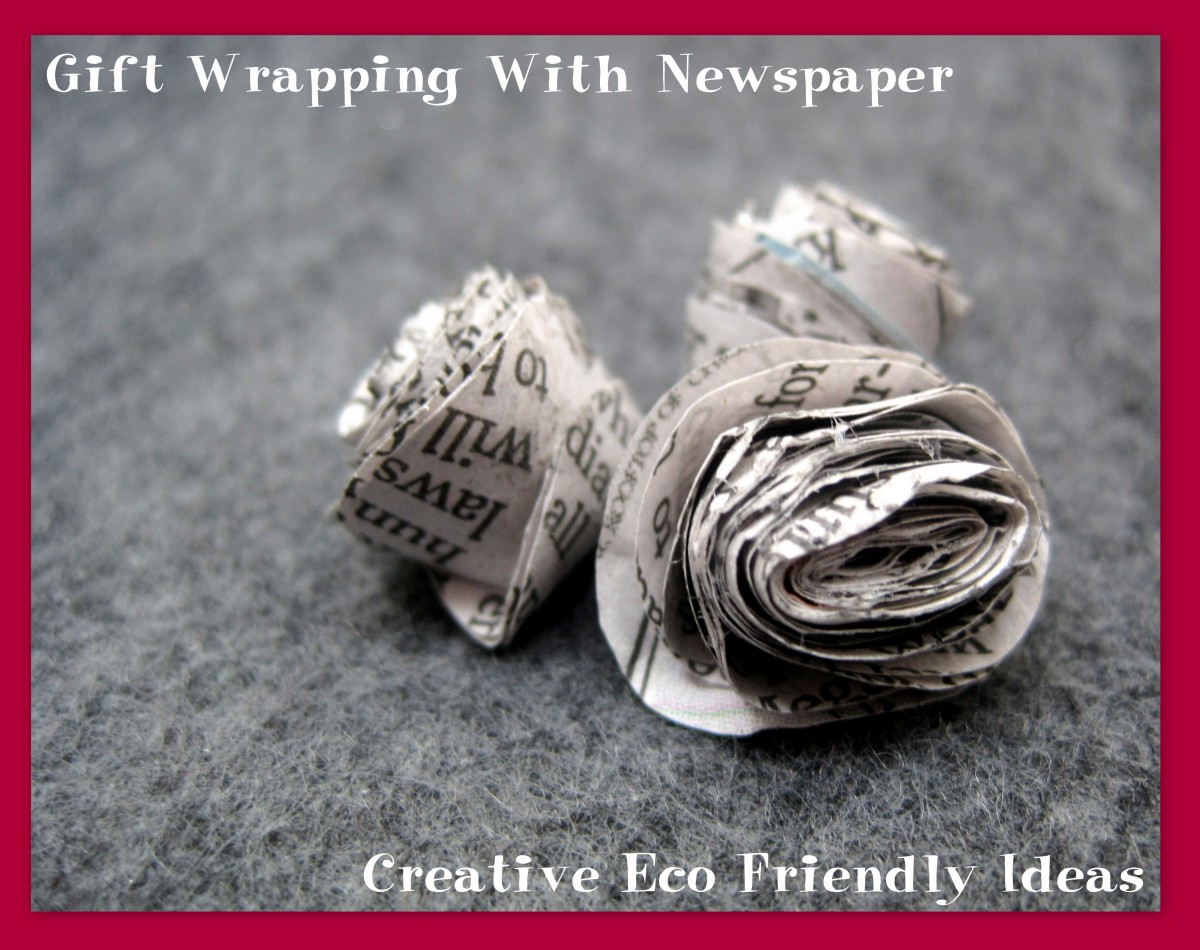 Gift Wrapping With Newspaper: Creative Eco Friendly Ideas