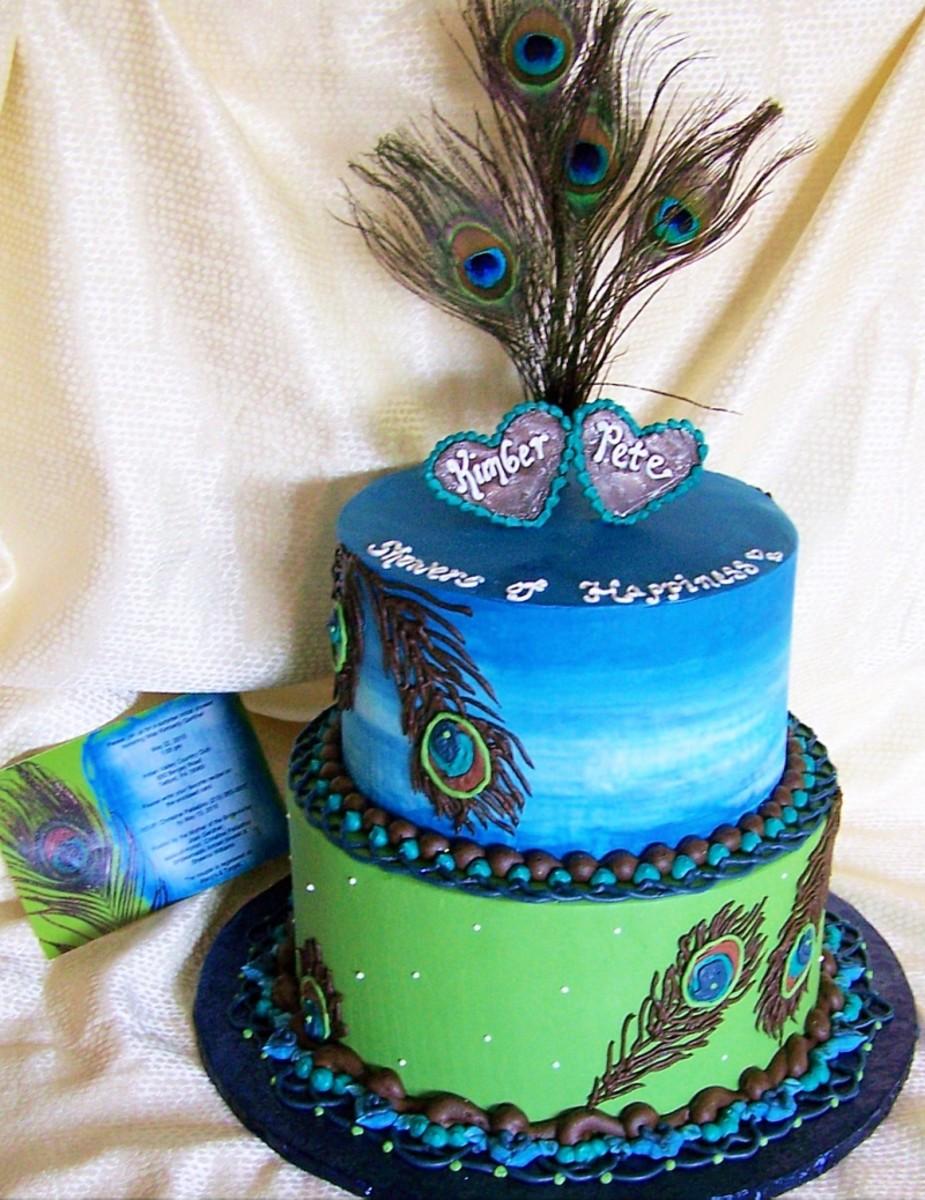 peacock-wedding-cakes