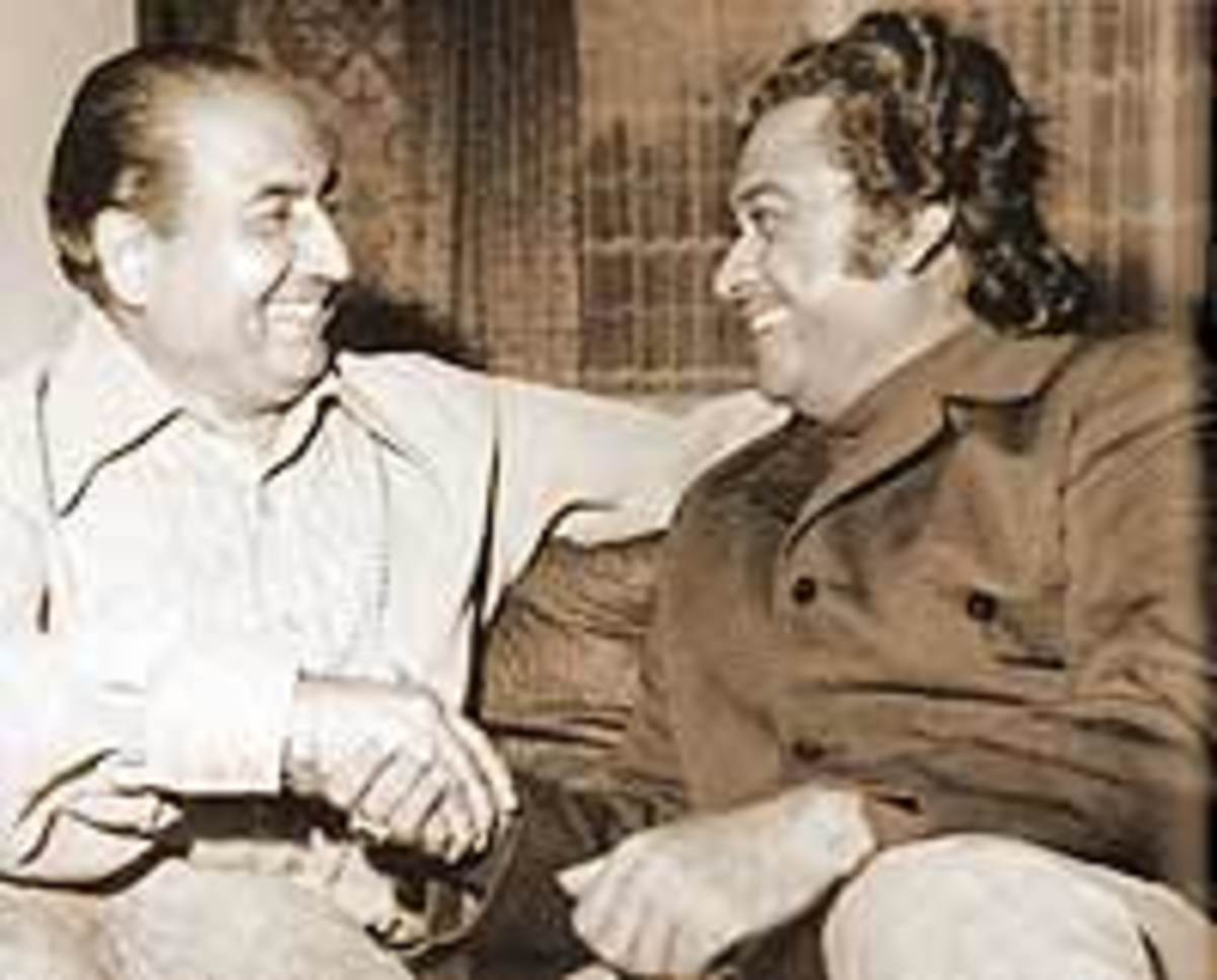 Mohd Rafi & Kishore Kumar -  Bollywood's two singing legends that are no more.