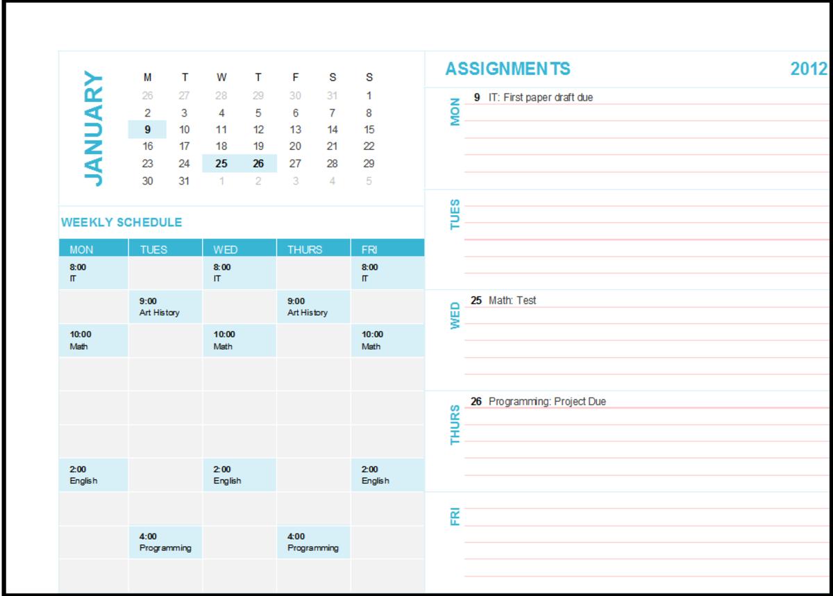 7088356f520jpg – Microsoft Office Weekly Calendar Template
