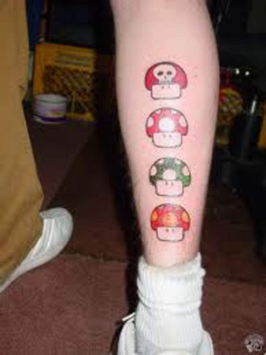 Mushroom Tattoos And Designs Mushroom Tattoo Meanings And Ideas