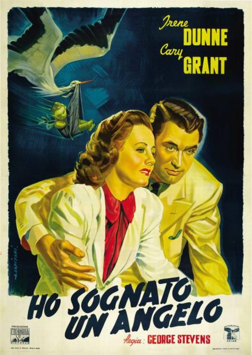Penny Serenade (1941) Italian poster