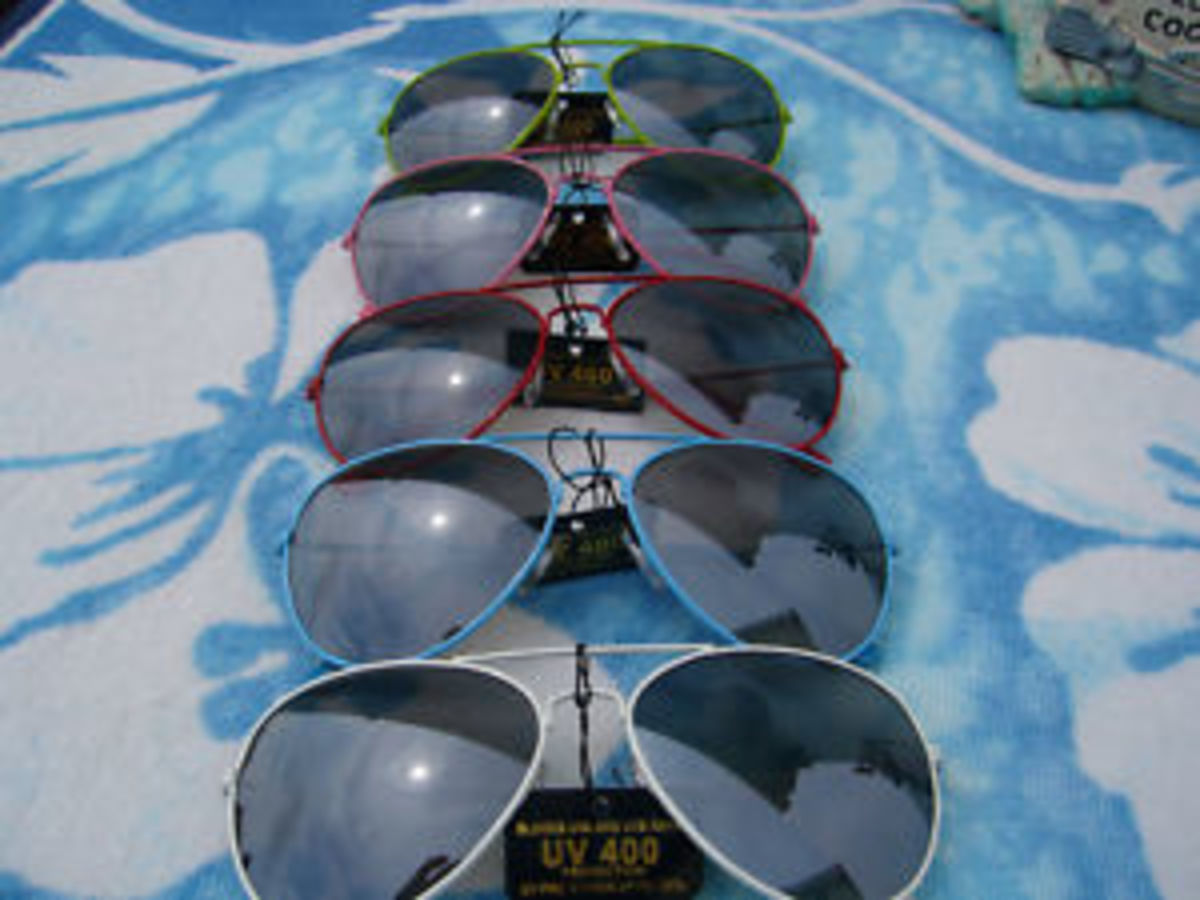 Difference Between Men and Women Aviator Sunglasses