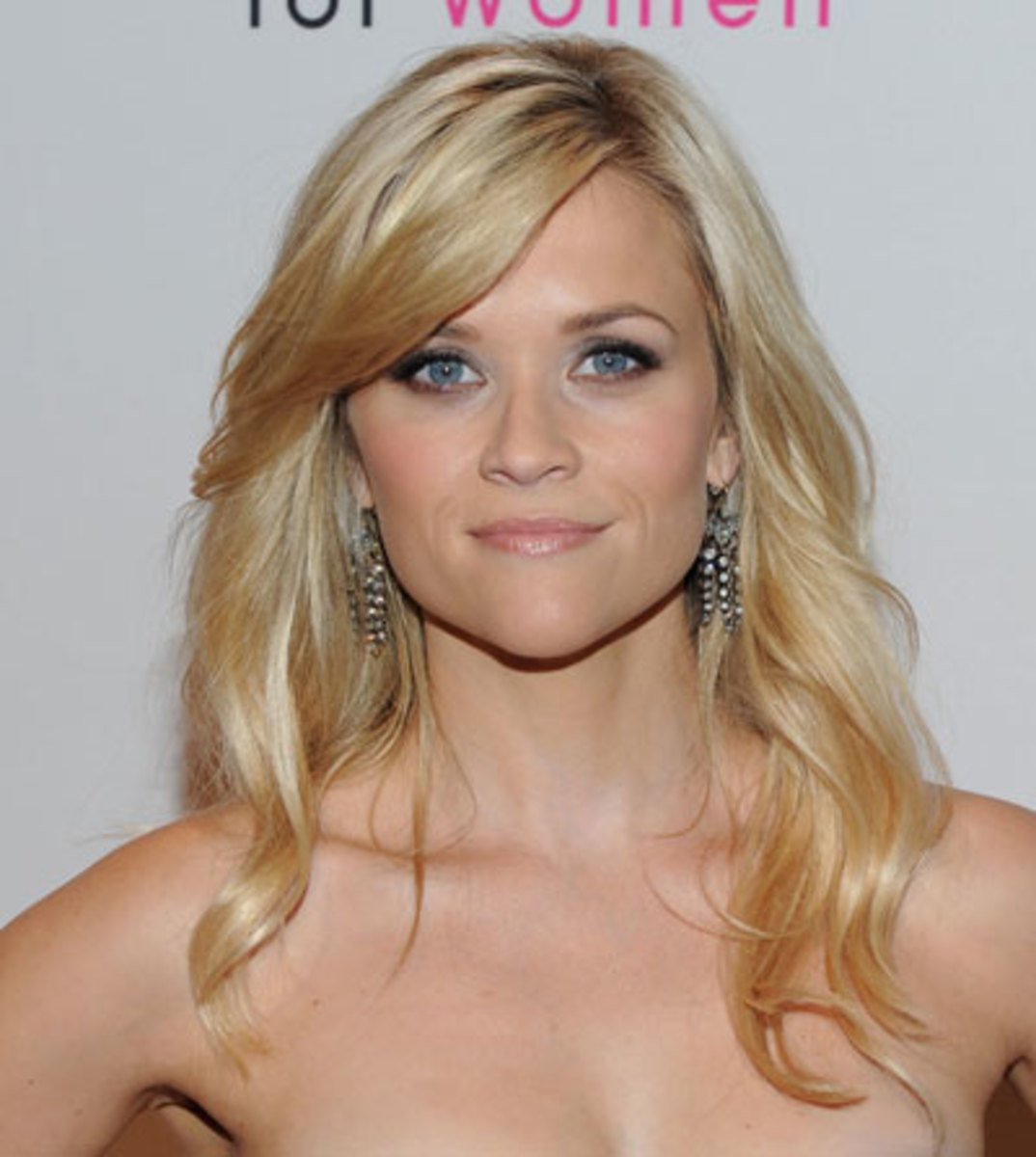 Actresses with square faces: Reese Witherspoon