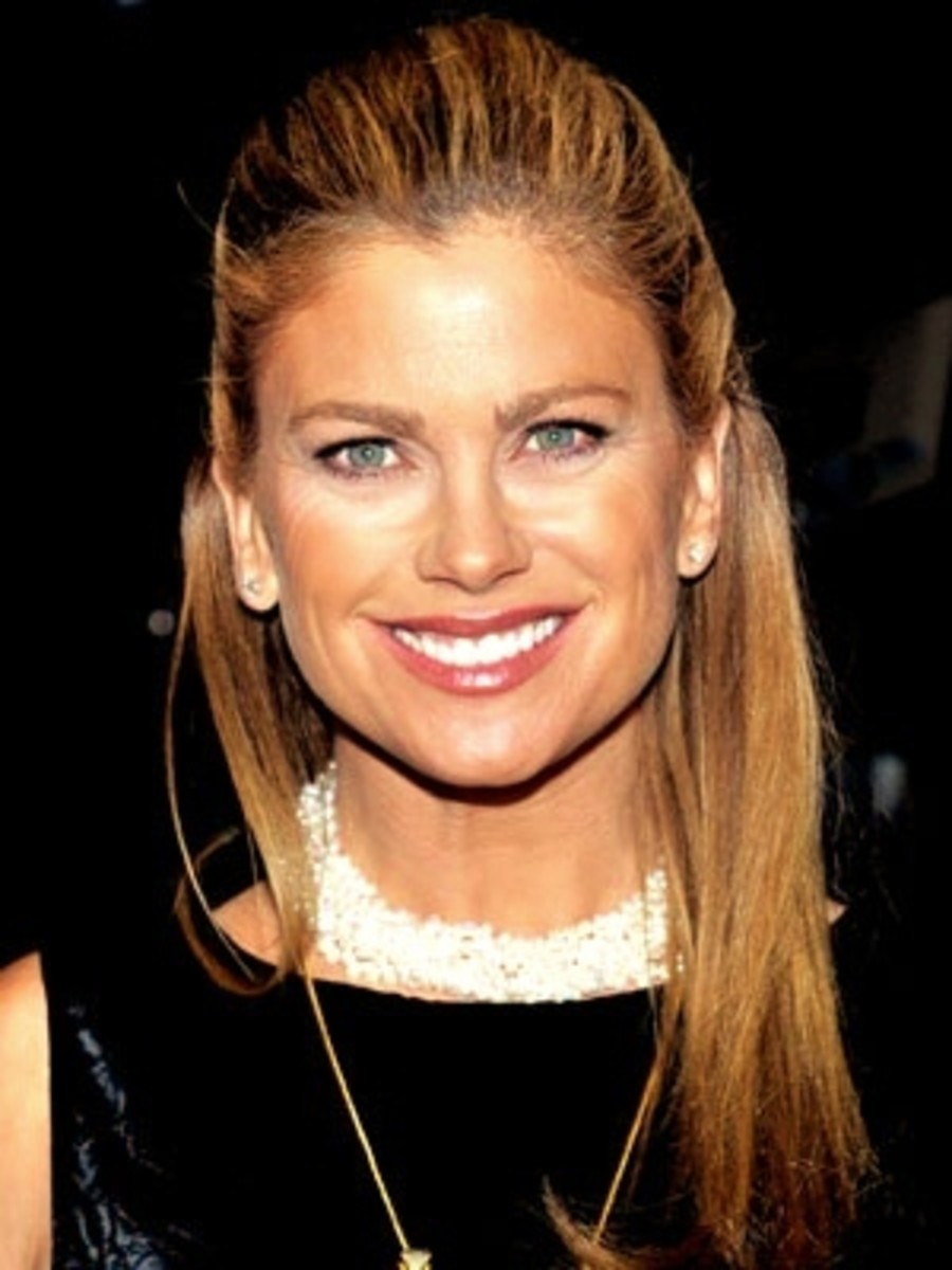 Square face women celebrities: Kathy Ireland