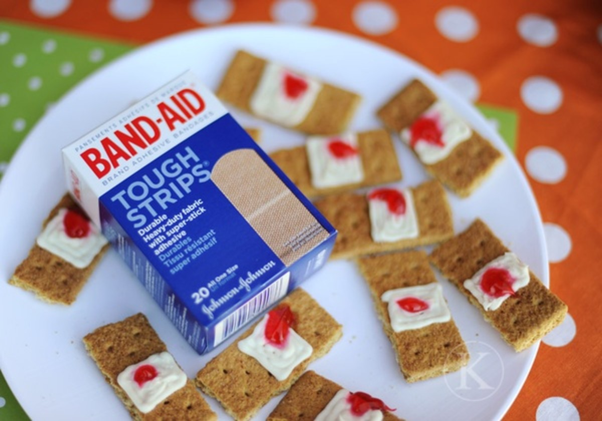Used Band Aid Snacks