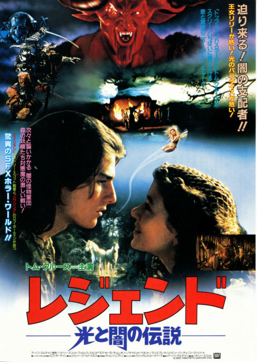 Legend (1985) Japanese poster