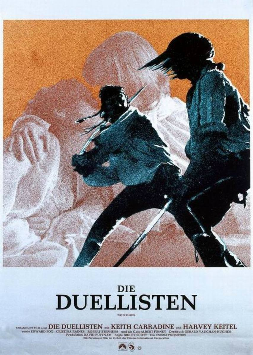 The Duellists (1977) German poster