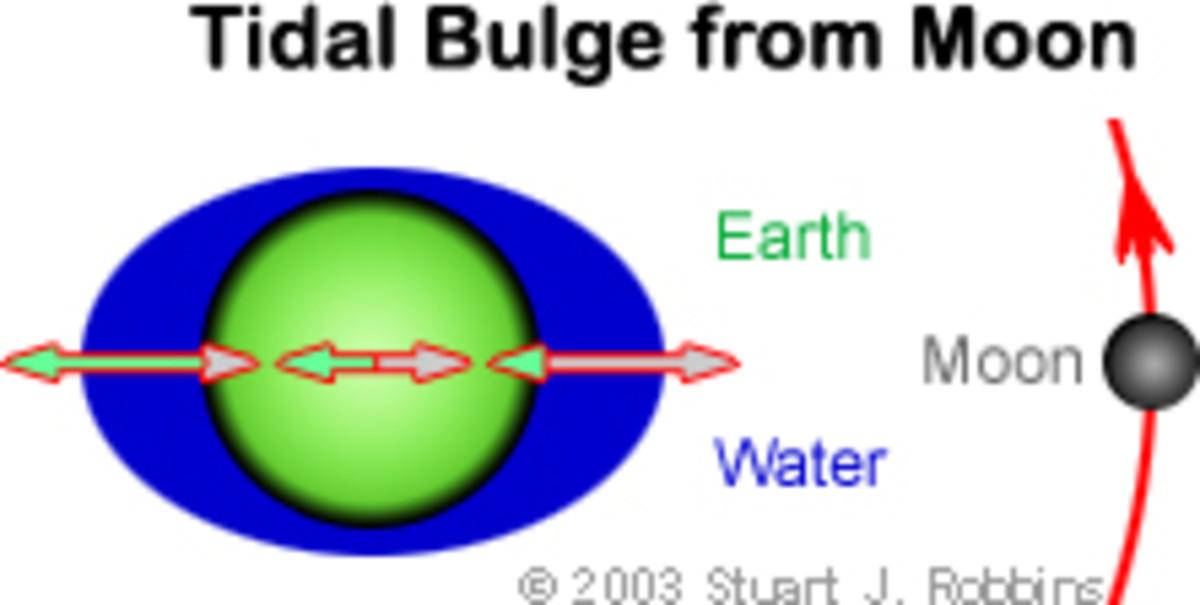 Tidal bulge