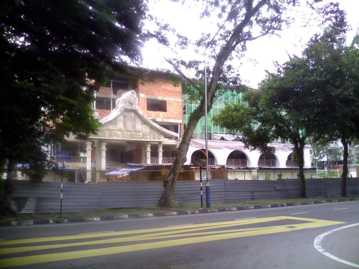 New Education And Multi-Purpose Building Next To The Main Building