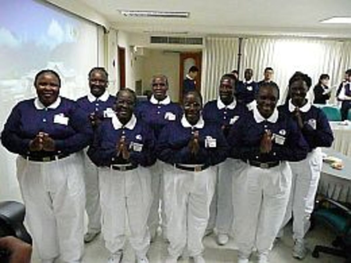 """The Master referred the African Tzu Chi volunteers as """"Black Pearls"""" which are more valuable than the ordinary """"white"""" ones."""