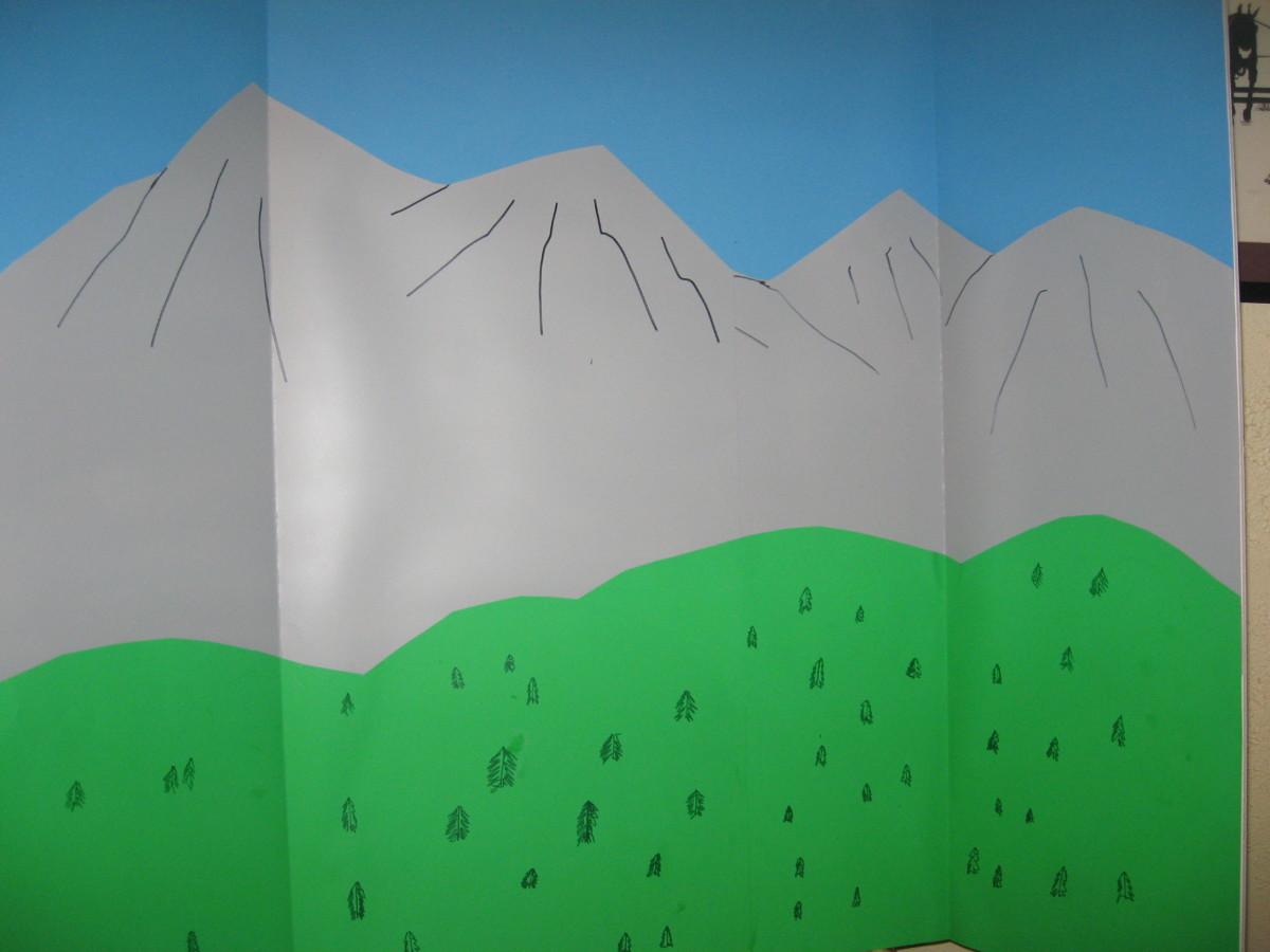 tri-fold background