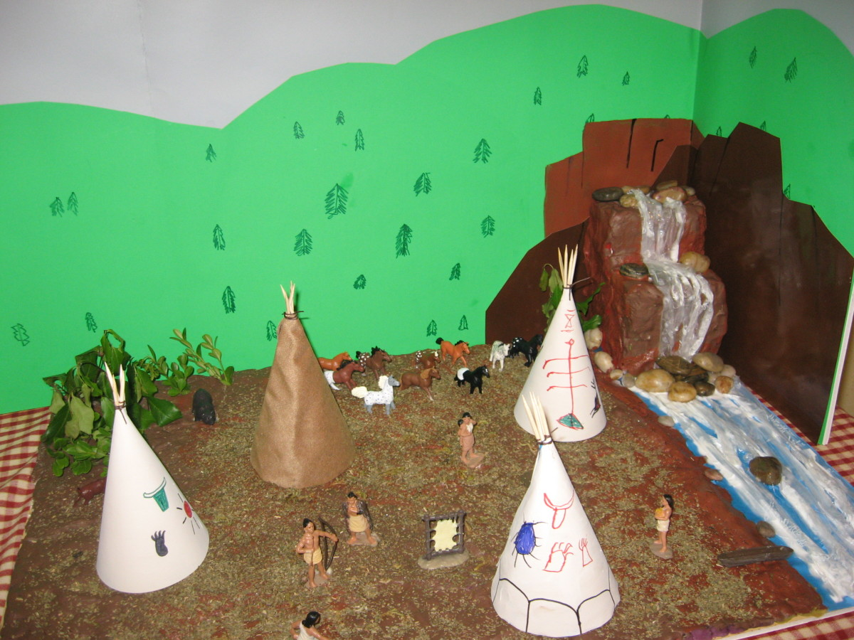 Nez Perce Native American Village project