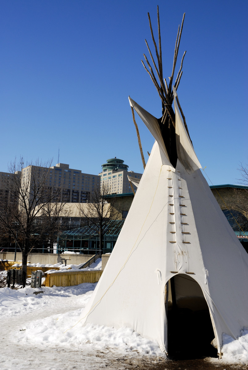 Native American Indians of the Plains - preferred lodging