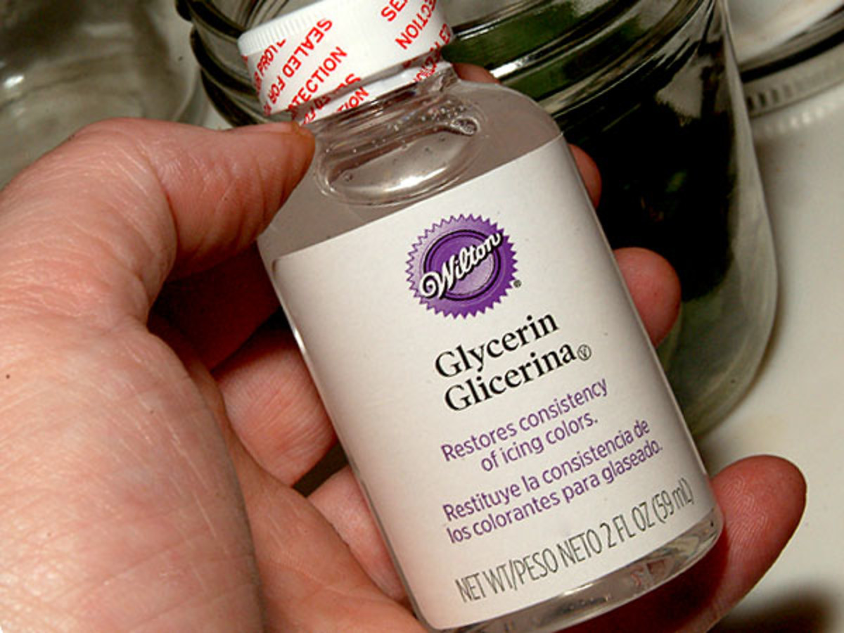 Glycerine can be substituted for the 80-proof alcohol to make non-alcoholic extracts.