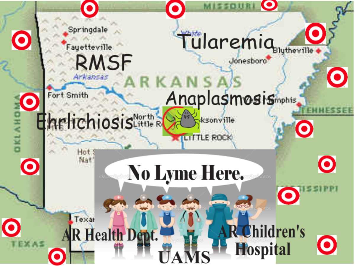 """No Lyme here..!"""
