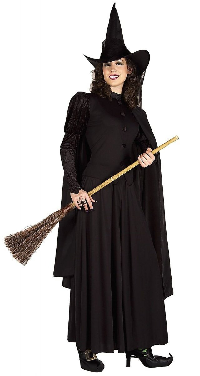 Classic Witch Adult Costume Size Standard One-Size