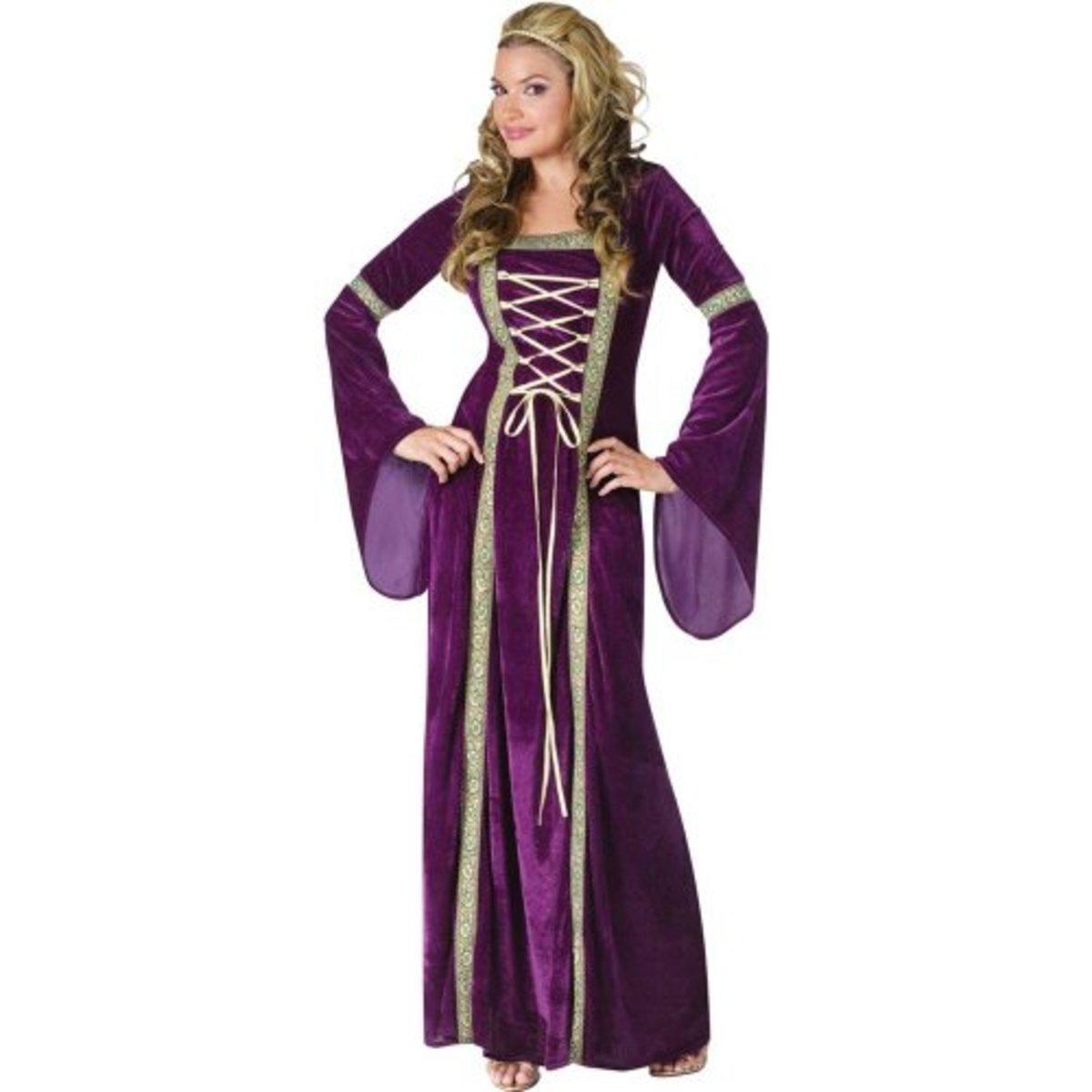 Fun World Costumes Funworld Deluxe Renaissance Lady