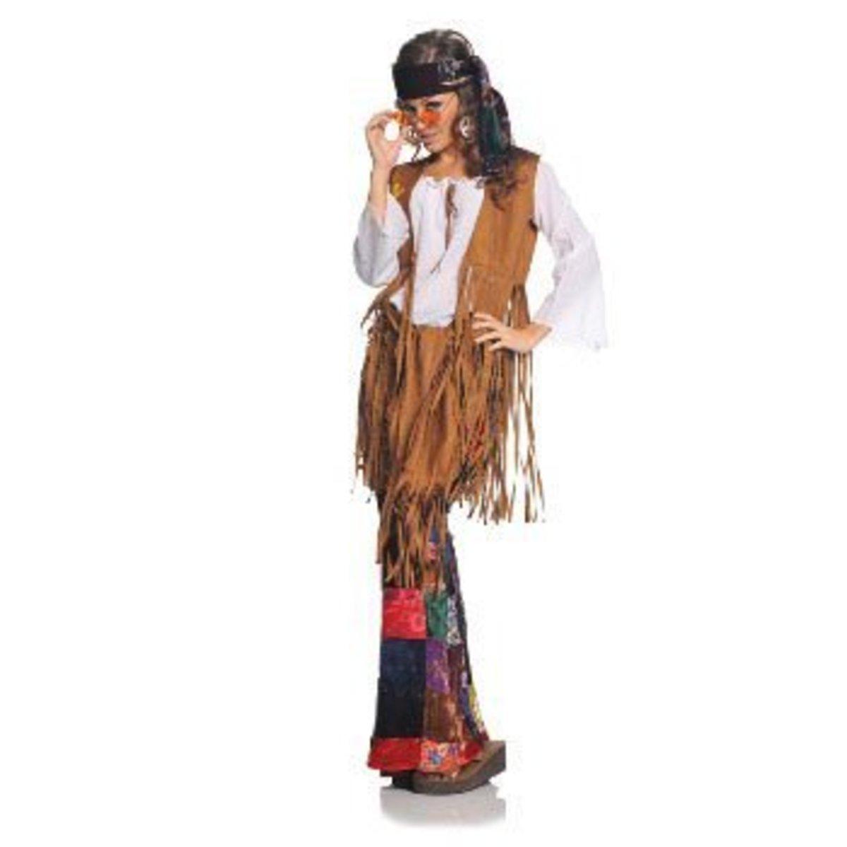 Underwraps Women's Peace Out Costume