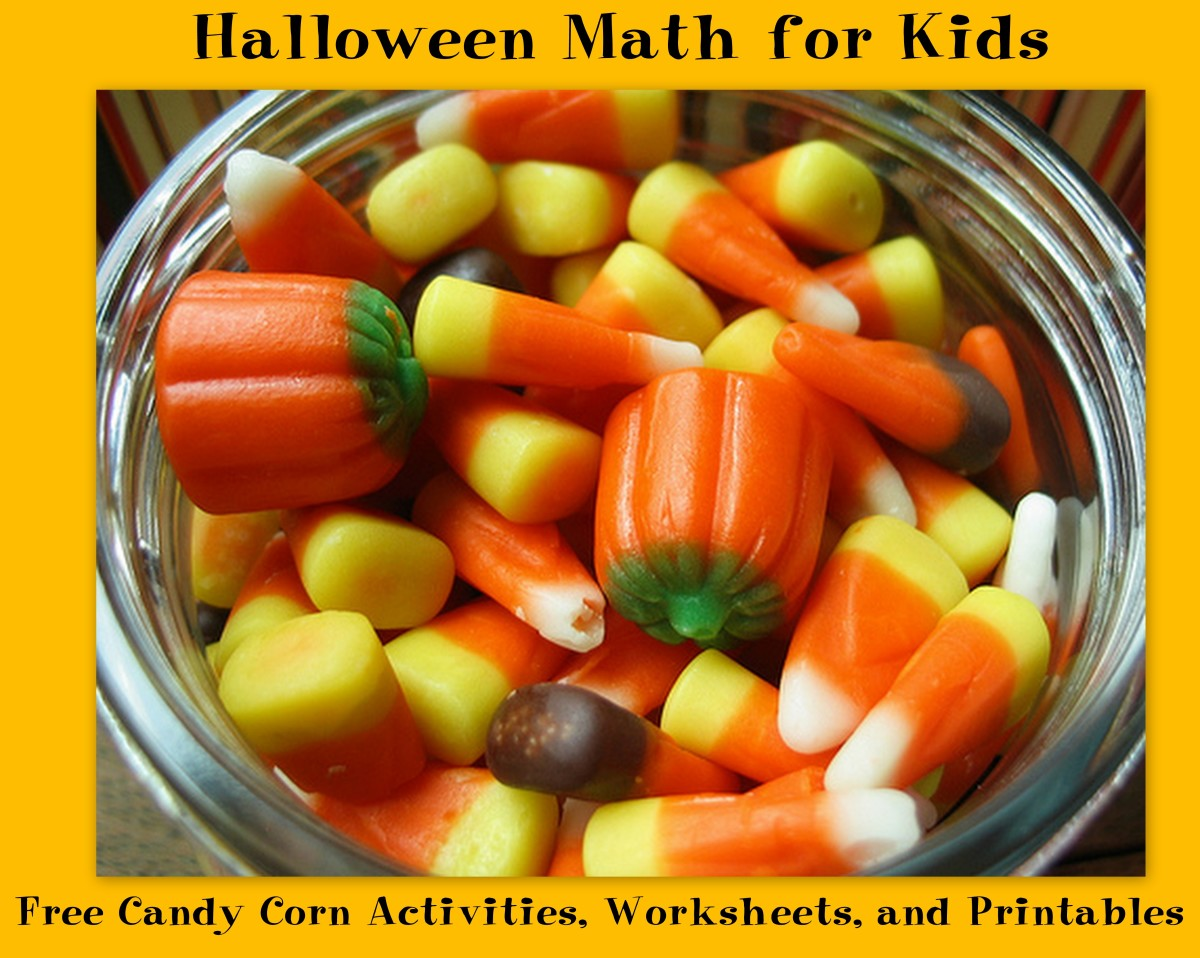 Halloween Math for Kids: Free Candy Corn Activities, Worksheets, and Printables