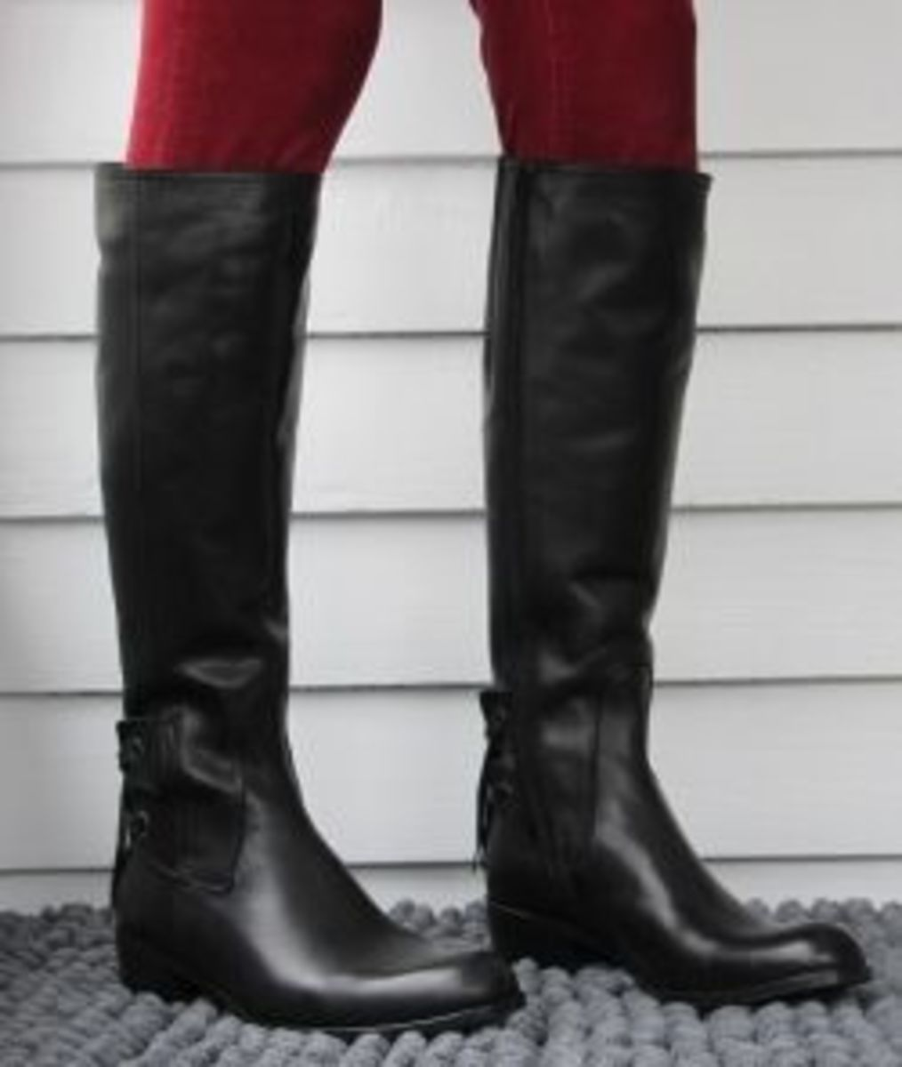 Narrow Calf Boots ~ Riding Boots