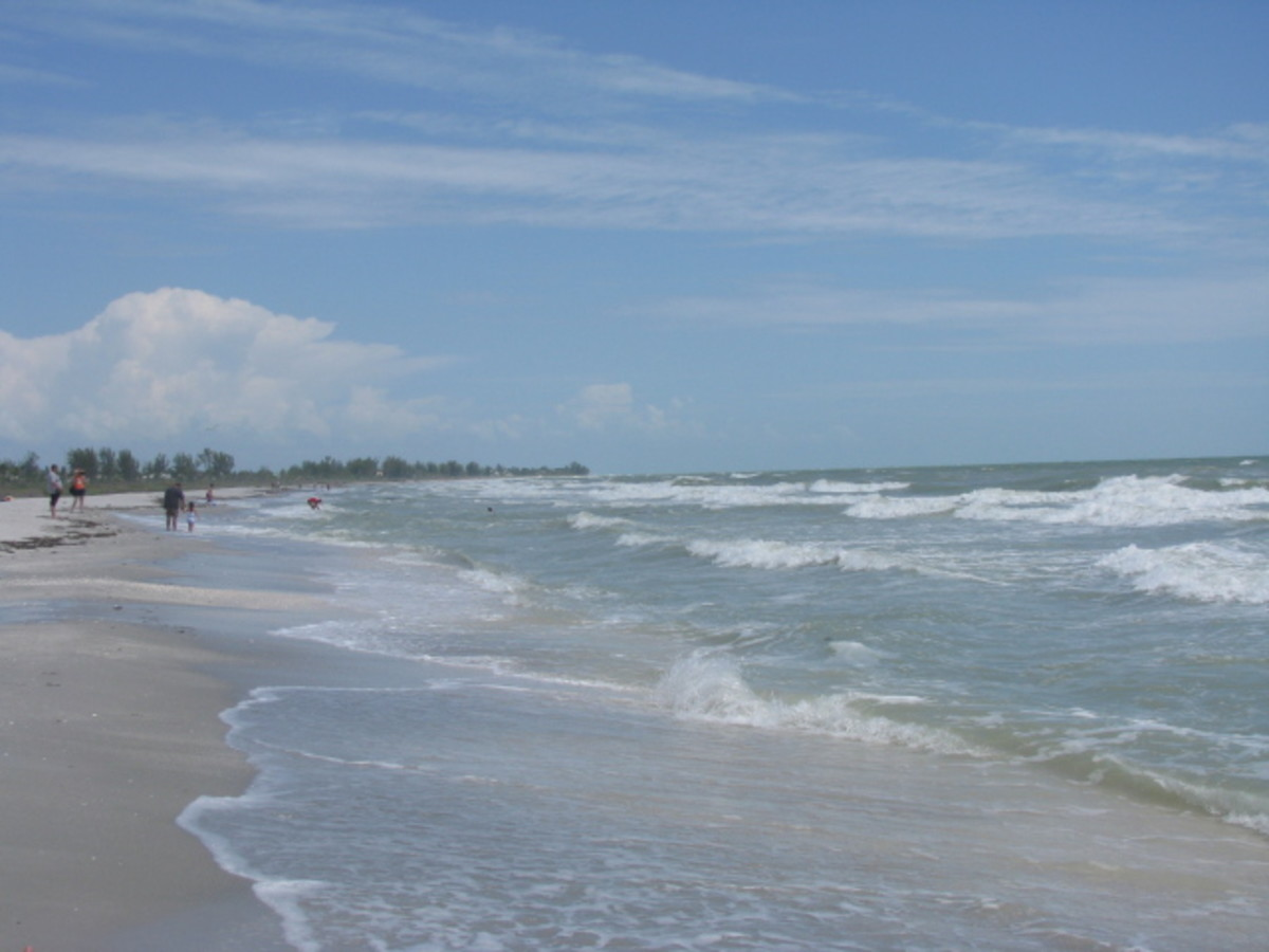 The View From Bowman's Beach On Sanibel Island, Florida