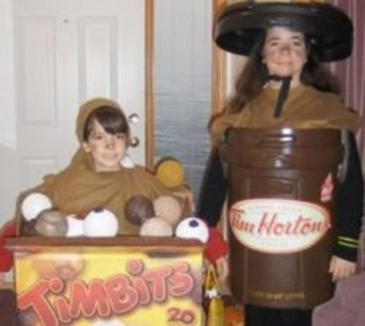 Tim Hortons Coffee Cup & Timbits Costume