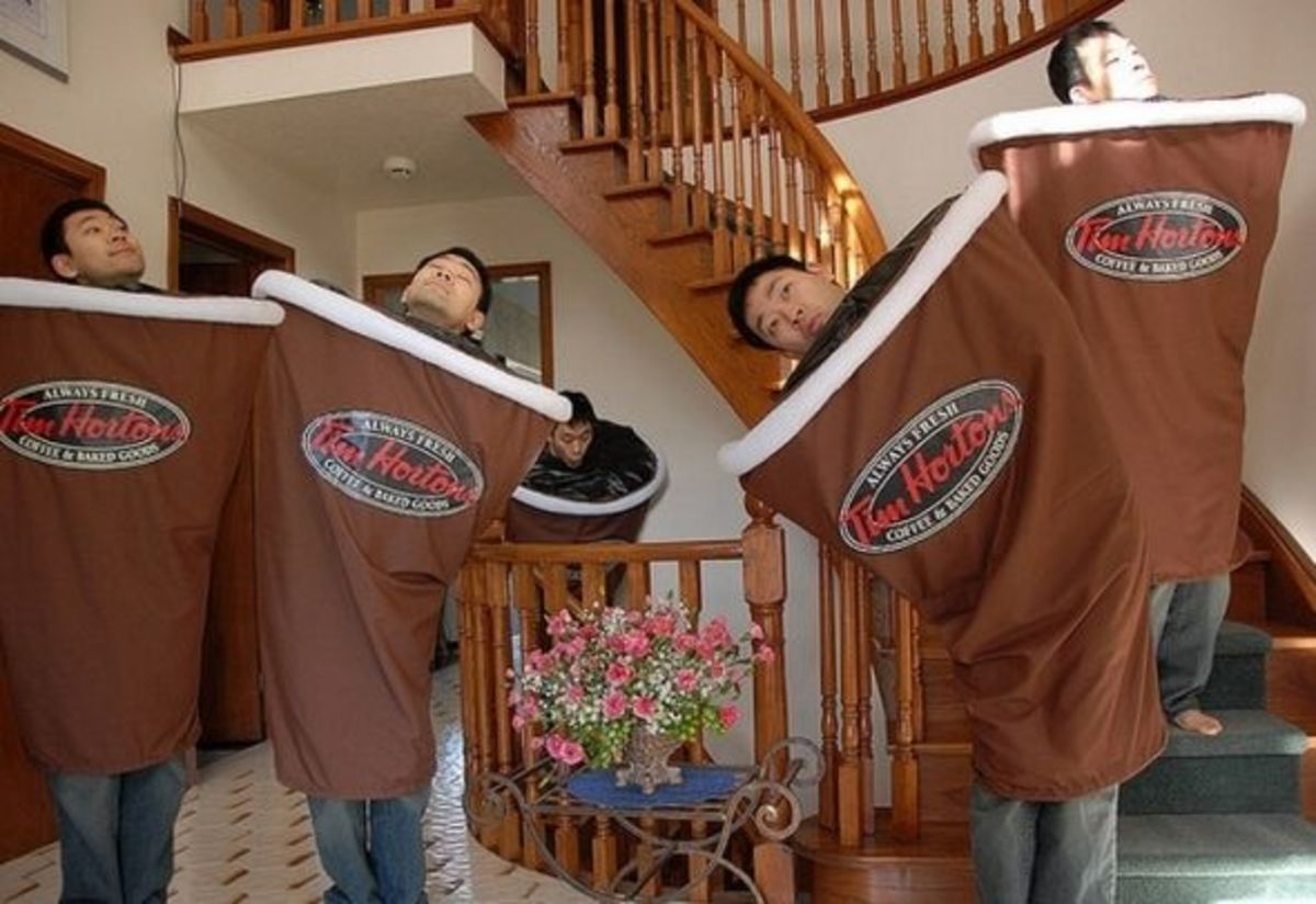 Tim Hortons Coffee Cup Costume