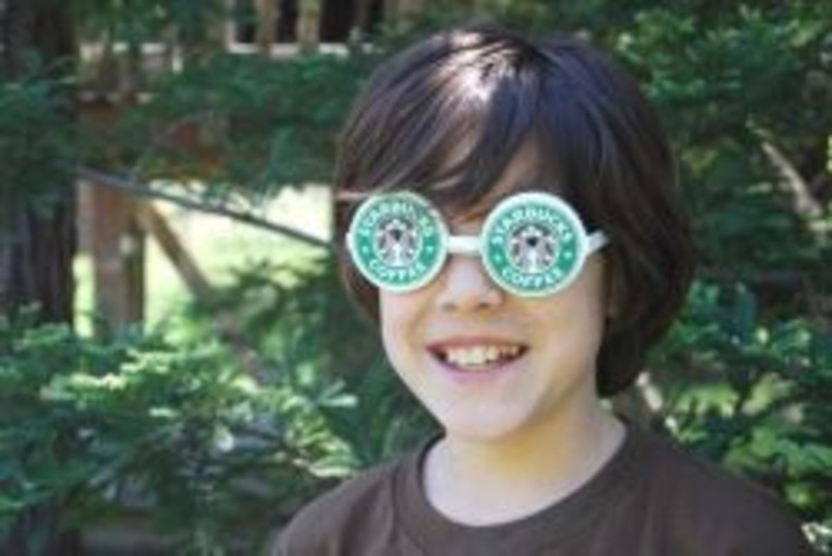 Make Goggles From Coffee Cups