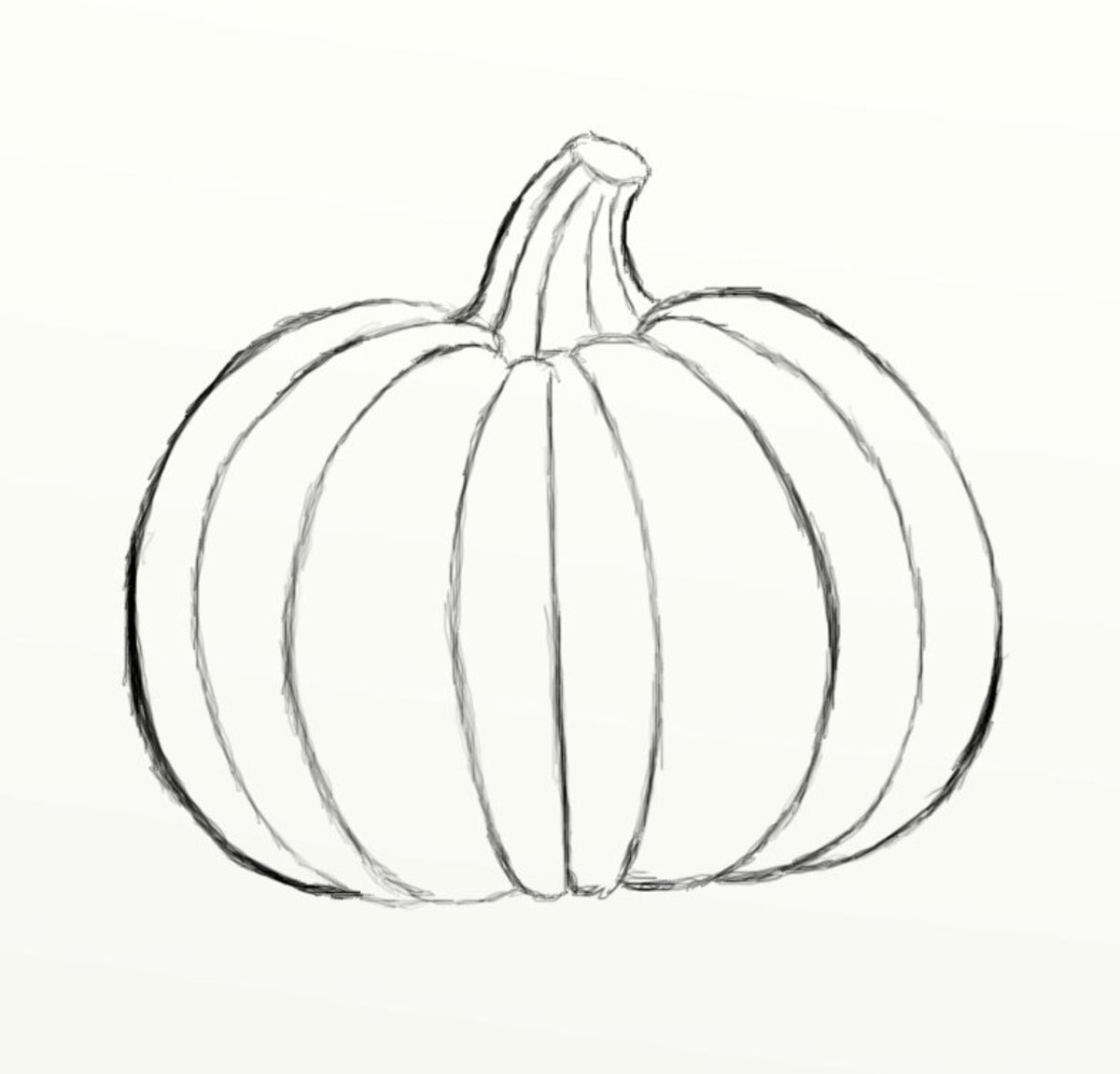 how-to-draw-a-simple-pumpkin