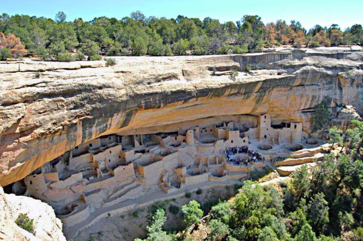 Cliff Palace, Mesa Verde National Park.