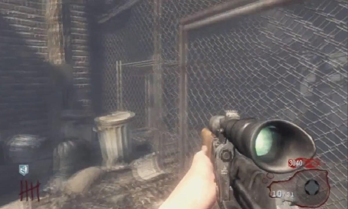 Dragunov sniper rifle on Kino Der Toten.