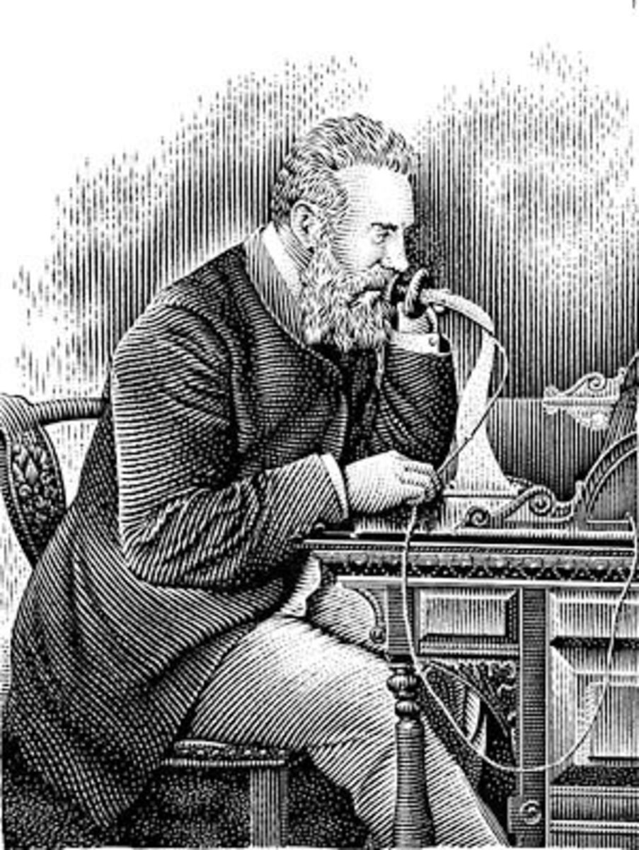 "Inventer of the Telephone, Alexander Graham Bell wrote in his journal ""After innumerable failures I finally uncovered the principle for which I was searching."""