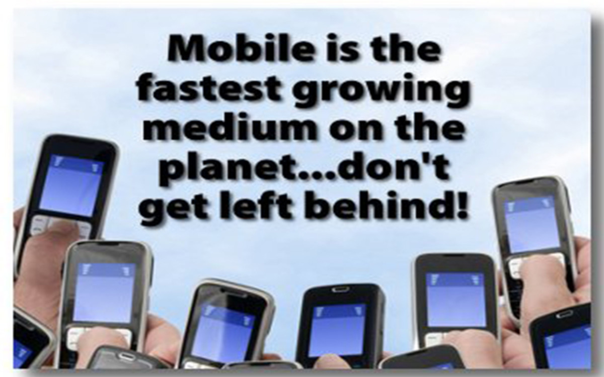 The mode of communications has shifted to the mobile gizmos in the 21st century: And Africa, so far is on board...