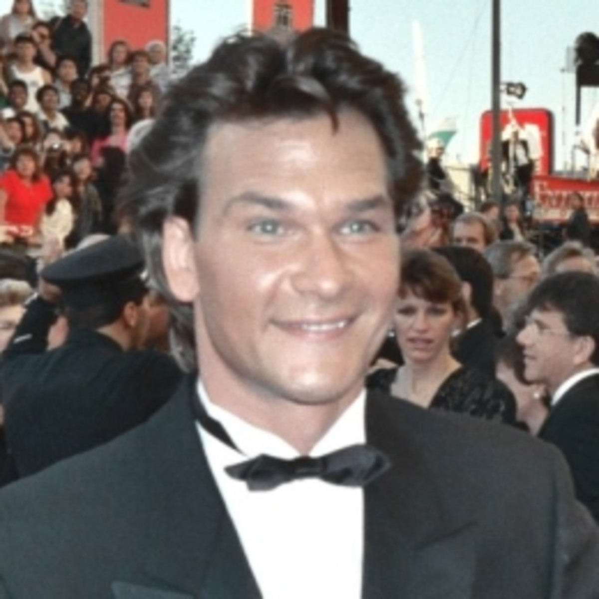 Patrick Swayze, married from 1975 until his death in 2009