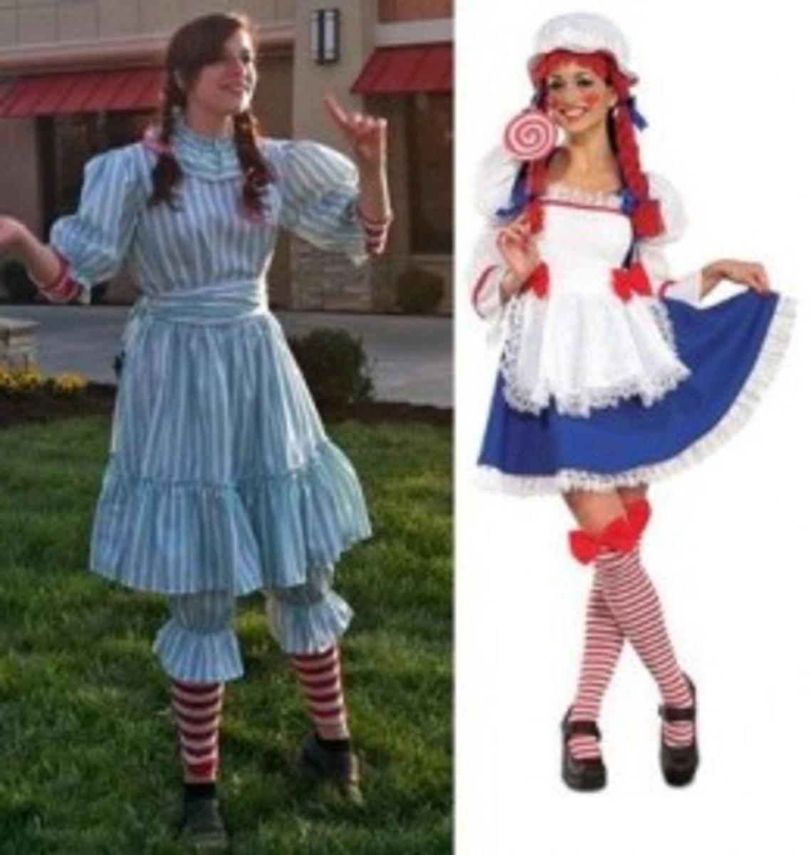 Wendy's Costume Looks like Ragdoll