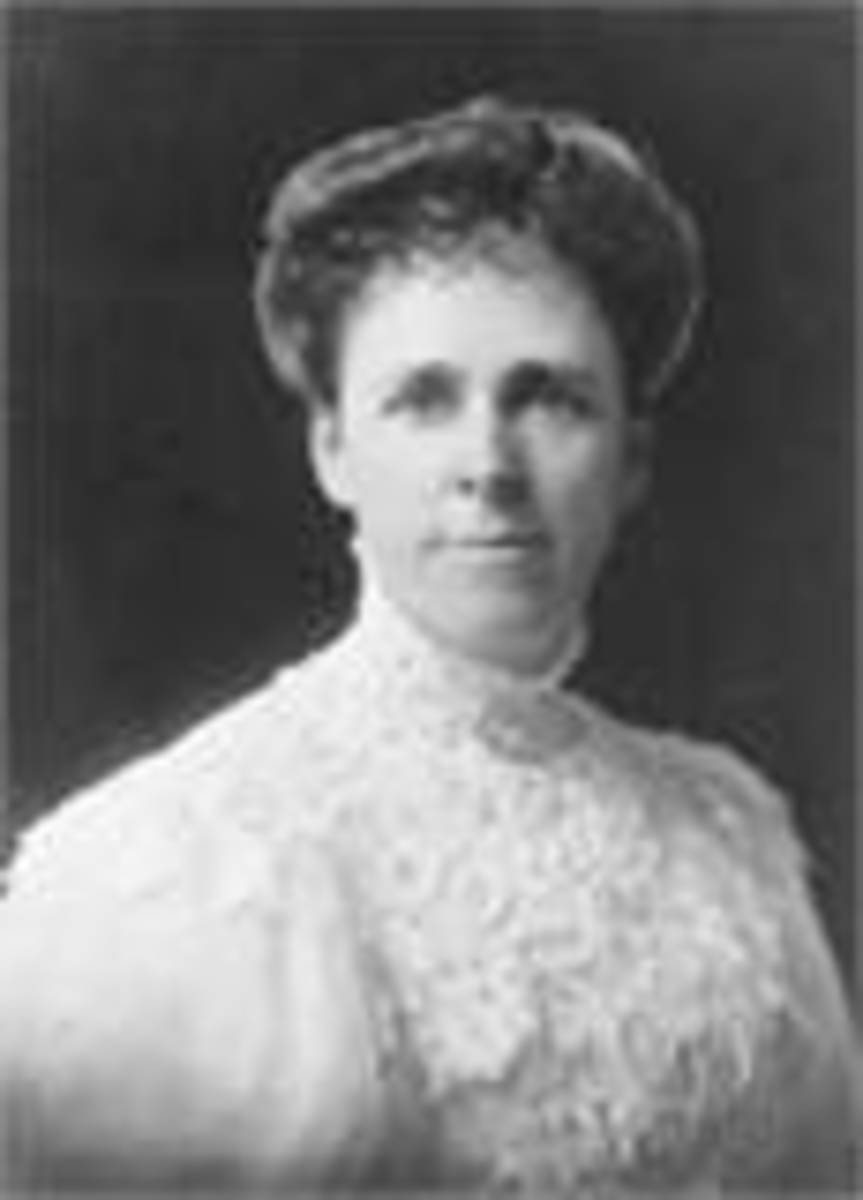 Alice Josephine McLellan White Birney, October 19, 1858 - December 20, 1907 Co-Founder and First President of The National Mothers Congress, Changed the world of mothers and children across the United States.