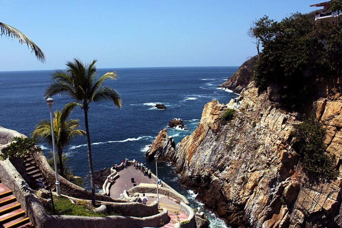 La Quebrada in Acapulco, Mexico