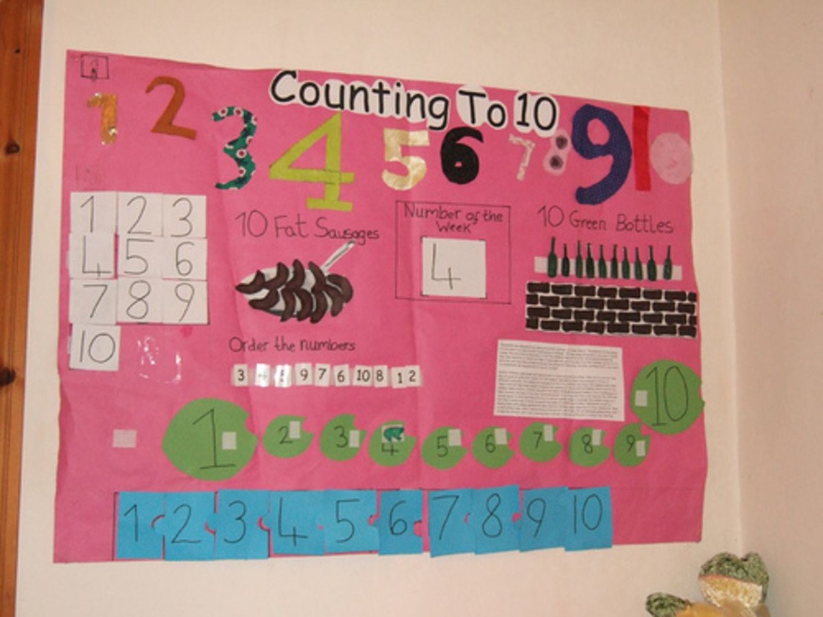 Incorporate your turkey math activities into your current math bulletin board.